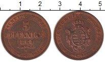 Изображение Монеты Пфорцхайм 5 пфеннигов 1864 Медь XF+