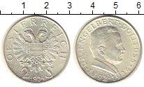 Изображение Монеты Австрия 2 шиллинга 1934 Серебро UNC-