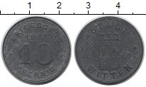 Изображение Монеты Германия : Нотгельды 10 пфеннигов 1917 Цинк XF-