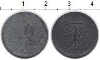 Изображение Монеты Германия : Нотгельды 10 пфеннигов 1919 Цинк XF-