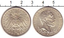 Изображение Монеты Шварцбург-Зондерхаузен 2 марки 1905 Серебро UNC-