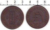 Изображение Монеты Индокитай 1 цент 1886 Бронза XF