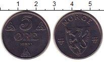Изображение Монеты Норвегия 5 эре 1944 Железо XF+