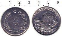 Изображение Монеты Турция 2 1/2 лиры 1980 Сталь UNC-