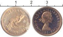 Изображение Монеты Новая Зеландия 6 пенсов 1965 Медно-никель Proof-