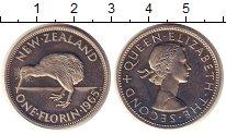 Изображение Монеты Новая Зеландия 1 флорин 1965 Медно-никель Proof-