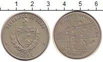 Изображение Монеты Куба 1 песо 1990 Медно-никель UNC-
