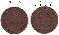 Изображение Монеты Италия Парма 5 чентезимо 1830 Медь VF