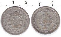 Изображение Монеты Мозамбик 5 эскудо 1960 Серебро VF Португальская колони