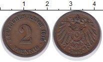 Изображение Монеты Германия 2 пфеннига 1913 Медь XF