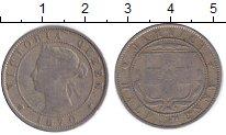 Изображение Монеты Ямайка 1/2 пенни 1870 Медно-никель VF Виктория