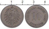 Изображение Монеты Германия 10 пфеннигов 1889 Медно-никель XF