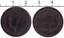 Изображение Монеты Западная Африка 1 шиллинг 1938 Латунь VF