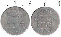 Изображение Монеты Нидерланды Западная Фризия 2 стивера 1737 Серебро VF