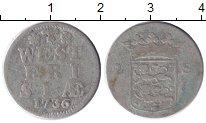 Изображение Монеты Нидерланды Западная Фризия 2 стивера 1736 Серебро VF
