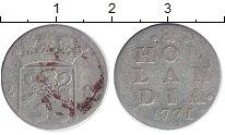 Изображение Монеты Нидерланды Голландия 2 стивера 1771 Серебро VF