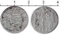 Изображение Монеты Нидерланды Западная Фризия 2 стивера 1716 Серебро VF