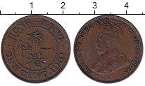 Изображение Монеты Гонконг 1 цент 1931 Бронза XF