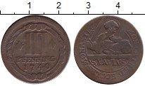 Изображение Монеты Мюнстер 3 пфеннига 1740 Медь VF
