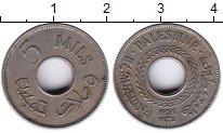 Изображение Монеты Палестина 5 милс 1935 Медно-никель XF Протекторат