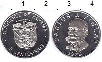 Изображение Монеты Панама 5 сентесимо 1975 Медно-никель UNC