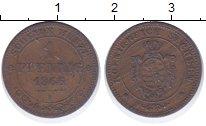 Изображение Монеты Саксония 1 пфенниг 1866 Медь XF-
