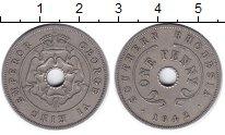 Изображение Монеты Родезия 1 пенни 1942 Медно-никель XF