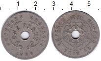 Изображение Монеты Великобритания Родезия 1 пенни 1939 Медно-никель VF