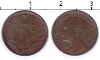 Изображение Монеты Италия 1 сентесим 1916 Бронза XF