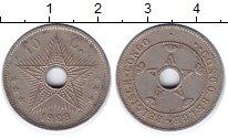 Изображение Монеты Бельгийское Конго 10 сантим 1928 Медно-никель XF