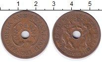 Изображение Монеты Родезия 1 пенни 1963 Бронза XF