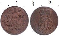 Изображение Монеты Фихтах 1 геллер 1758 Медь VF
