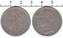 Изображение Монеты Бельгия Бельгийское Конго 1 франк 1927 Медно-никель VF
