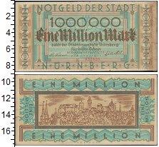 Изображение Боны Германия : Нотгельды 1.000.000 марок 1923  XF Нюрнберг