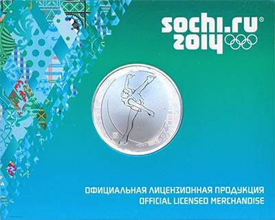 Изображение Подарочные наборы Россия Сочи-2014 2014 Серебро Prooflike `Памятная медаль (се