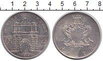 Изображение Монеты Мальта 2 фунта 1973 Серебро XF Ворота.Герб