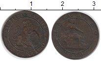 Изображение Монеты Испания 1 сентимо 1870 Медь VF