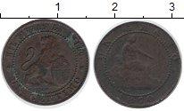 Изображение Монеты Испания 1 сентим 1870 Медь VF