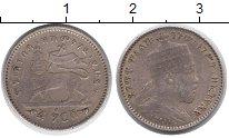 Изображение Монеты Эфиопия 1 герш 1895 Серебро XF