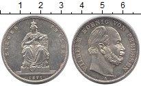 Изображение Монеты Пруссия 1 талер 1871 Серебро UNC-