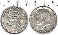 Изображение Монеты США 1/2 доллара 1968  XF