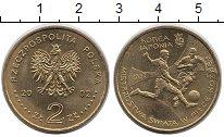 Изображение Монеты Польша 2 злотых 2002 Латунь XF