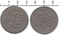 Изображение Монеты Мексика 20 песо 1982 Медно-никель XF