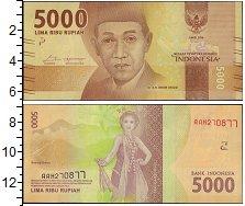 Изображение Боны Индонезия 5000 рупий 2016  UNC