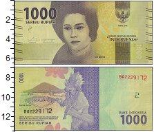 Изображение Боны Индонезия 1000 рупий 2016  UNC Тэйт Мэтья
