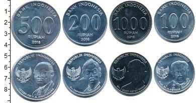 Изображение Наборы монет Индонезия Индонезия 2016 2016  UNC