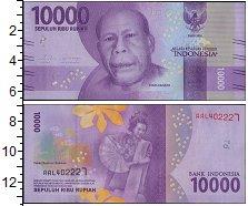 Изображение Боны Индонезия 10000 рупий 2016  UNC-