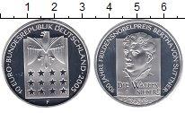 Изображение Монеты Германия 10 евро 2005 Серебро Proof F  Берта фон Зутнер.