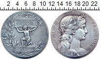 Изображение Монеты Франция медаль 1906 Серебро XF