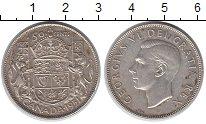 Изображение Монеты Канада 50 центов 1951 Серебро XF Георг VI